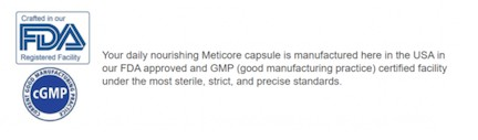 Scam on Meticore